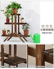 Hot selling wooden flower shelf for sale