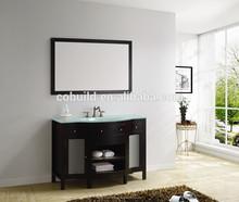 American Classic Glass Countertops Bathroom Vanity Cabinet (K-M017)