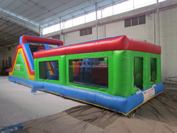Giant inflatable obstacle course amusement playground for kids
