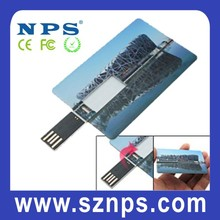 The Best Selling Full Color Printing Waterproof High Speed USB Credit Card/Credit card USB