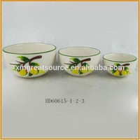 Wholesale microwave safe household cheap ceramic bowl