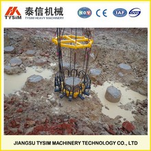 KP315A, rock pile cutter, hydraulic cylinder excavator parts, break piles machinery