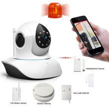 TCP/IP/WIFI CCTV camera 3G network home security alarm system