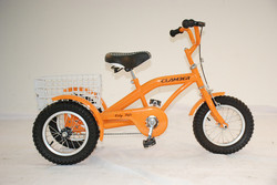 Kids cargo tricycle/kids bike with three wheels used bike for kids GW7013
