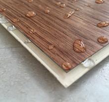 European Design 7mm Indoor Wood Plastic Composite WPC Vinyl Flooring with Cork Back
