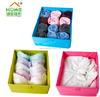 100% Ployester Underwear Storage Box Foldable Storage Box For Clothes Washable Folding Fabric Drawer
