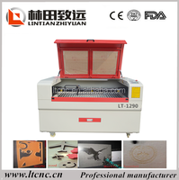 LT-1290 High speed cnc acrylic laser cutter/manual laser cutter for sale