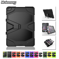 Factory hot selling oem case for ipad air 2 shockproof waterproof case with kickstand