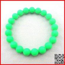 2012 Cute round ball ball silicone bracelet