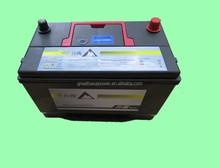 Long battery life expectency 12V 80AH high performance maintenance free sealed lead acid 12V battery for car