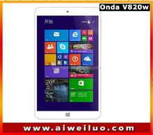 8.0'' IPS 1280*800 ONDA V820W dual boot Intel Z3735F Quad Core Win8.1 tablets pc 2GB RAM 16G/32G ROM BT4.0 4200mAh