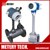 Low cost vortex liquid control flow meter