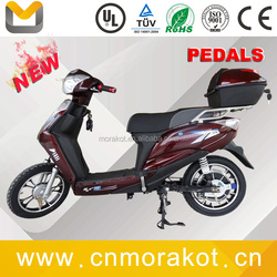 2015 New Products Classic 2 Wheel 500W Brushless Motor Electric Moped Scooter With Pedal Assistant -- LS1-3
