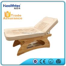 wooden spa salon oil sex bed thai massage bed