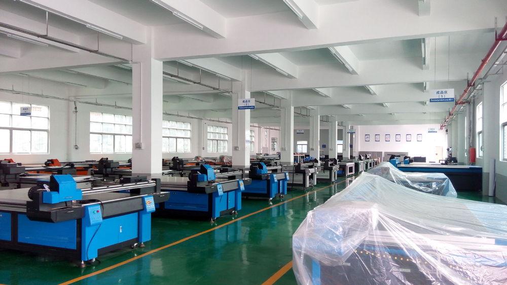 2.5mx1.3m UV 평면 침대 유리 잉크젯 프린터, 나무, 타일, PVC 인쇄 ...
