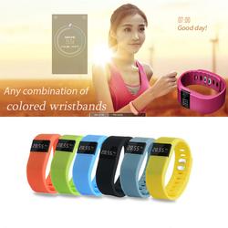 Call reminder bluetooth 4 smart activity sleep adjustable silicone wristband