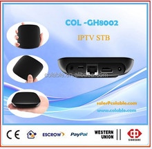 iptv android smart tv box ,android 4.1 tv boxCOL-GH8002