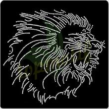 Crystal Lions rhinestone Design,2014 New Transfer embelishment