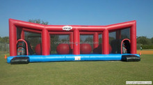 popular in party funny products pass CE certificate inflatable wipeout