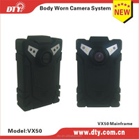 mini dvr wearable dvr for car use and body worn with 1.44 inch display(VX50)