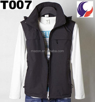 Lightweight Cheap black vest men for sale T07
