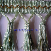 tassel fringe trimming for garment decorative or curtain accessory