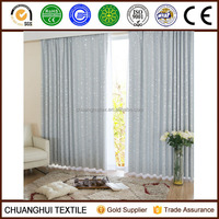 2014 New Arrrival Thermal Insulated modern decorative blackout curtain pinch pleat curtain