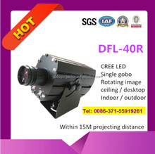 fashionable advertising light LED gobo projector 40w outdoor