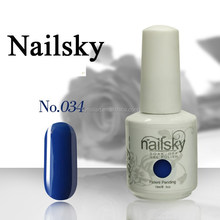 2015 Nailsky and American famous brand 133 colors 15ml nail salon gel uv polish