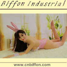 2015 Bingbing 165cm real full silicone sex doll,soft body with skeleton sex doll for men BFST020