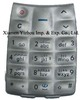Soft Good Touch Mobile Phone Keypad Made from 100% Silicone Rubber