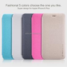 Mobile case for Iphone 6 plus Sparkle Flip Case For iPhone 6 plus NILLKIN phone case