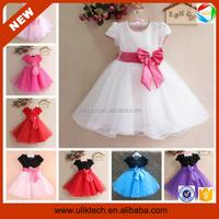 Beautiful party princess dress angel dresses for kids (Ulik-A0208)