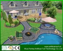 High quality artificial /plastic grass carpet decorative artificial grass,artificial decoration lawn