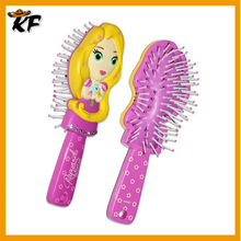 Plastic hair extension brush hair brush with spray pump made in China