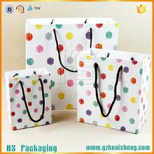 Custom Printing Birthday Shopping Gift Packaging Art Paper Bag