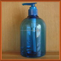big volume 250ml,450ml,500ml plastic bottle with dispenser pump for detergent