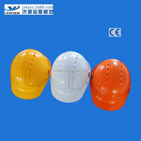 ABS industrial safety helmet standards ce en397 approved colors with chin strap