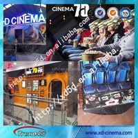 High Efficiency Truck Mobile 9D Cinema Kid Game Kino Sale for Europe