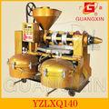 germen de maíz medio de prensa de aceite con filtro de aceite