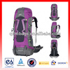 50L high end mountain climing bag hiking bag with in rain cover