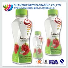 plastic shrink wrap heat seal film pvc for bottle packaging