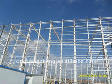 preferable price steel structure building exported to South America/africa