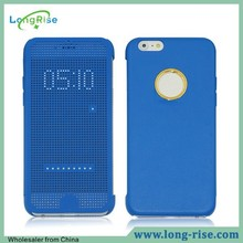High Quality Full Body Protective Flip Smart Dot View Case for iPhone 6