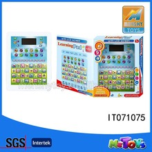 2015 HOT SELL baby Learning Ipad Toy/kids educational toys LCD screen