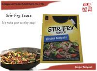 150g OEM ODM Standing Pouch Ginger Teriyaki Stir Fry Sauce