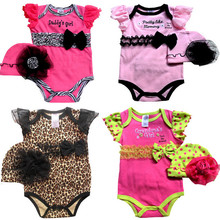 W20363G 2015 summer new design beautiful baby romper clothes