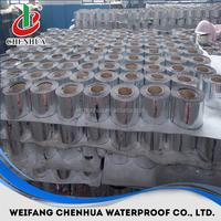 cheap building materials 1.5mm self-adhesive aluminium flashing roofing