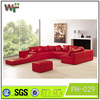 2015 Living room furniture Leather sofa
