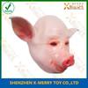 2015 Hot Selling Pigs Head Rubber Mask Fancy Dress Accessory